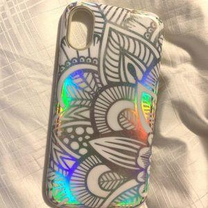 iPhone X hologram case